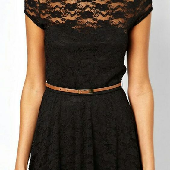 """Crochet skater dress """"All eyes on you when you step in wearing this cute skater dress"""" ??size large but a medium will fit just fine. Dresses"""