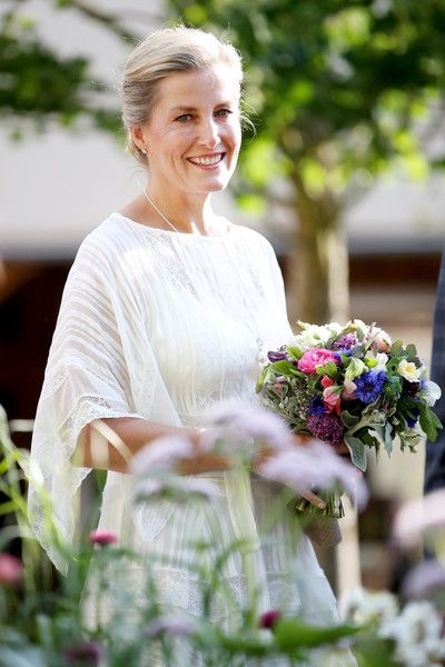 Countess of Wessex Photos - Sophie, Countess of Wessex attends the Chelsea Flower Show 2018 on May 21, 2018 in London, England. - Chelsea Flower Show 2018 - Press Day