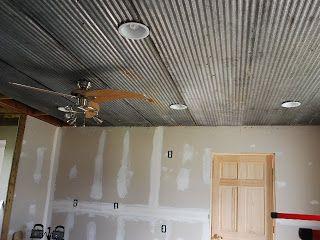 Old barn tin ceiling ideas google search bo 39 s house for Old barn tin ideas