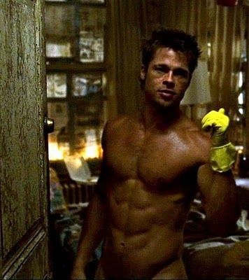 Not a current boyfriend, but an Ex.  Back when he was in Legends of the Falls and Fight Club... Yummy!