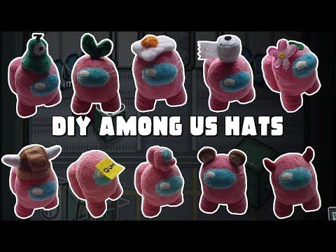 Among Us Drawing Easy Hats Amongaus