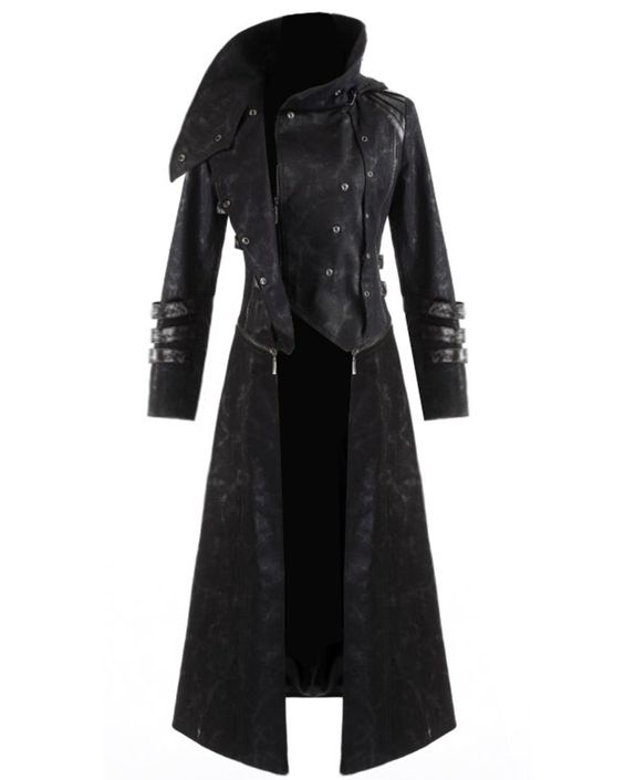 Womens Coat Long Jacket Black Large for the ladies! | clothes I