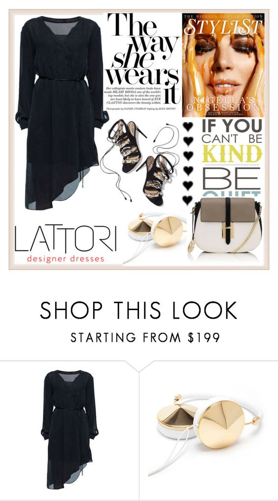 """""""LATTORI 9"""" by damira-dlxv ❤ liked on Polyvore featuring Lattori, Frends, Paul Andrew and Lipsy"""