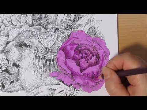 Coloring Book Vintage Classic Coloring Pages Touch Cool Sketch Marker Youtube Vintage Coloring Books Sketch Markers Coloring Books