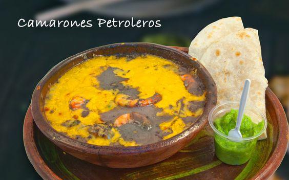 Camarones Petroleros #food #comida #alimentos #fishers #gourmet #mexico #delicias