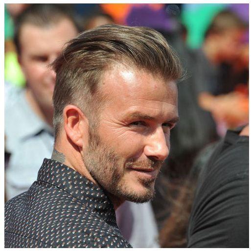25 David Beckham Frisuren 2019 Beckham Frisur David Beckham Lange Haare Beckham Haare