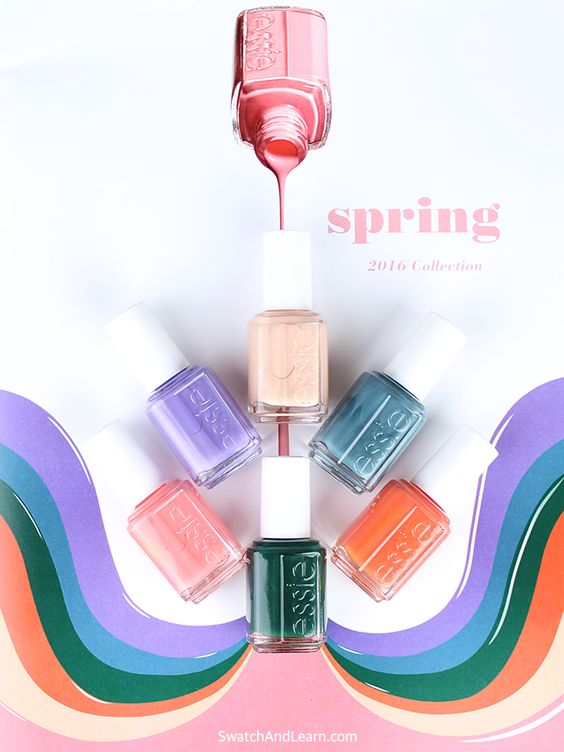 ESSIE NAIL POLISH SPRING 2016 COLLECTION ~ | Nail 2016 | Pinterest ...