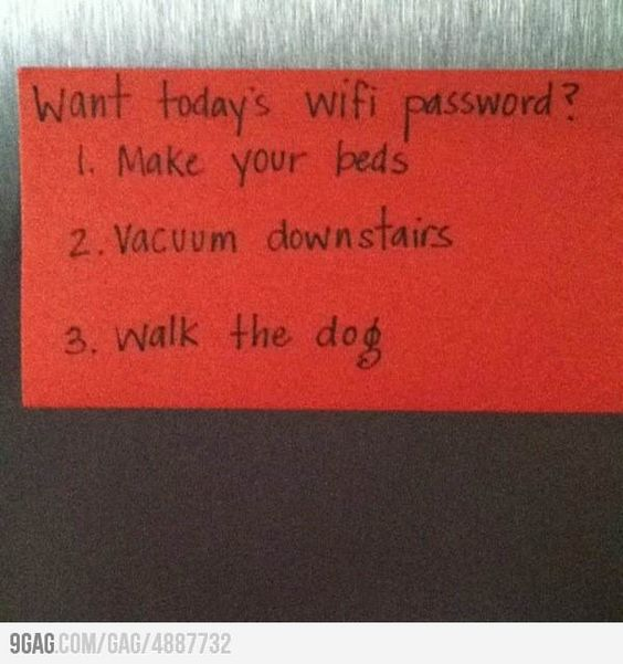 Well played mom, well played....: Remember This, Good Ideas, Parenting Idea,  Ruler, Wifi Password, Parenting Win, I Will, Awesome Idea, Kiddo