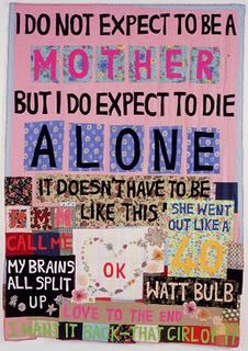 Tracey emins quilts