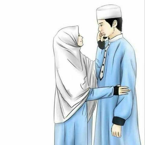 Kartun Muslimah Ulang Tahun Gambar Gambar Pengantin Kartun