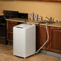 Finding space to hook up bulky washers and dryers can pose a ...