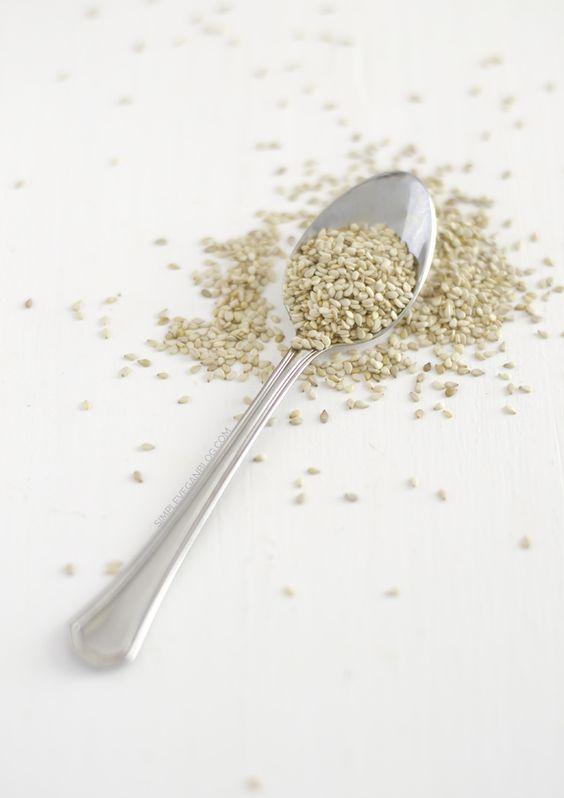 Sesame Seeds {How To Make Homemade Tahini}