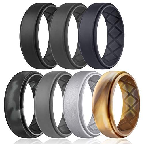 Top 10 Mens Silicone Wedding Rings Of 2020 No Place Called Home In 2020 Mens Rubber Wedding Bands Rubber Wedding Band Rings For Men