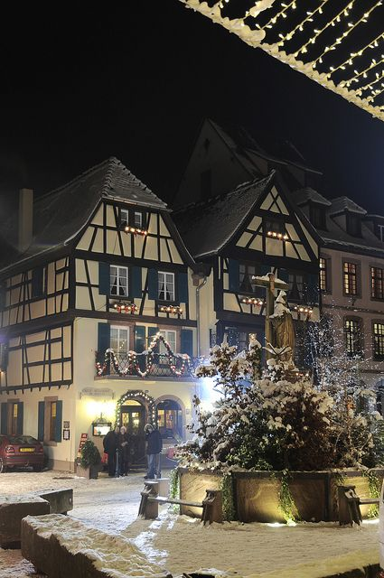 Noël en Alsace, dans la vallée de Kaysersberg  