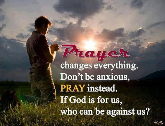 Prayer changes everything.  Thank Him for the Victory He has already won FOR YOU!