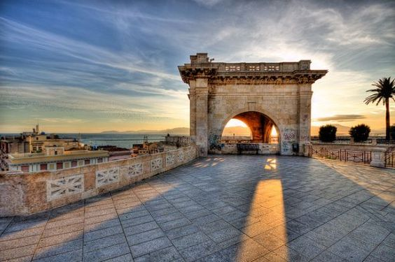 Sardinia Cagliari St. Remy bastion - need to go here
