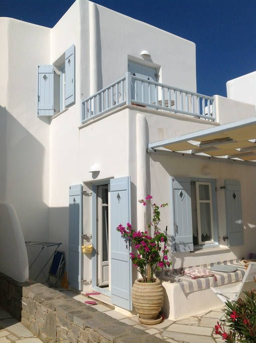 Check out this awesome listing on Airbnb: Fairy-tale home steps from sea! - Houses for Rent in Paros