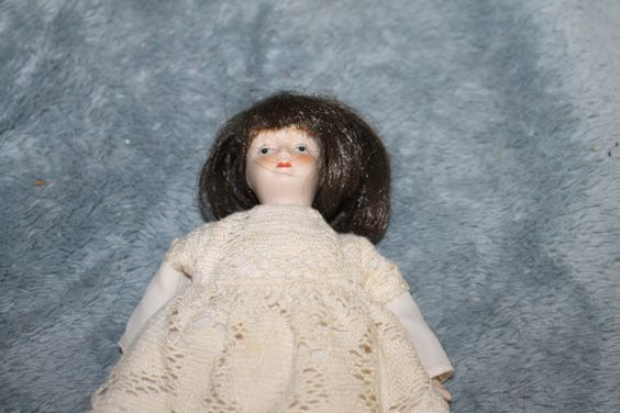 Vintage Porcelain Doll Decorative Doll Doll by YourVintageDays