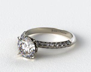 Pavé Engagement Rings | JamesAllen.com - Mobile