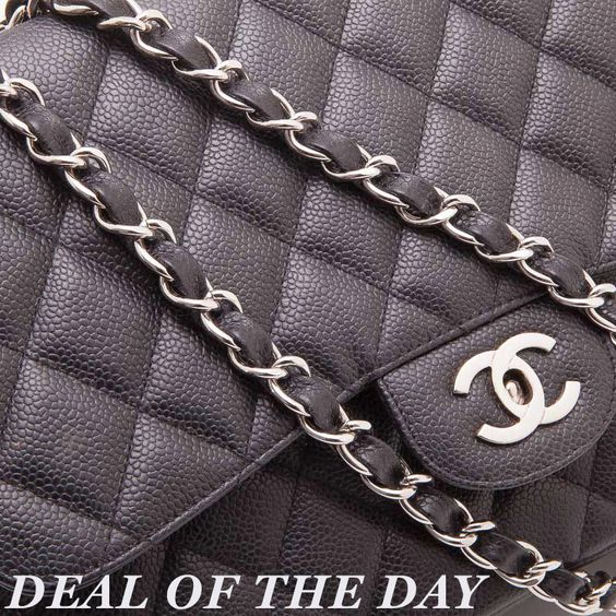Deal of the Day: Get our Chanel Quilted Leather Classic Medium Flap Bag at an exclusive price today only for $2,800!