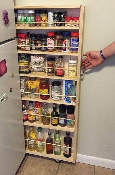 Dica de organização para a cozinha – Faça você mesmo – Carrinho porta temperos