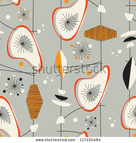 Photos mid century modern and design patterns on pinterest - Mid century modern patterns ...