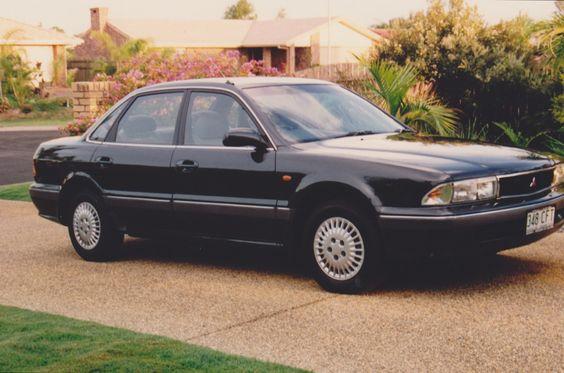 Mitsubishi Magna SE Sedan, 1991 - 1997.