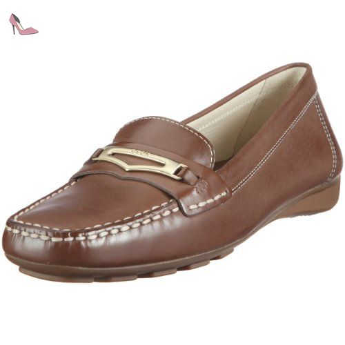 U Damon B, Mocassins (loafers) homme, Marron (C6004), 42 EUGeox