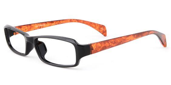 Eyeglass Frames With Long Temples : Unisex memory plastic full frame eyeglasses Horns, Shape ...