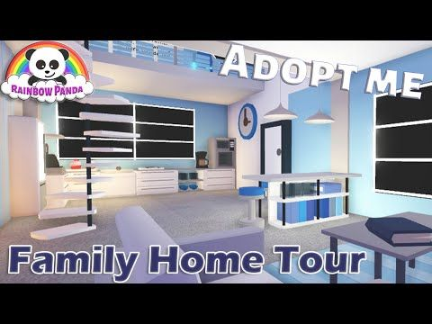 Adopt Me Family Home Tour Beach House Youtube Unique House Design Futuristic Home House Tours