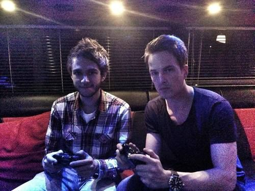Zedd & Dannic, both hotties