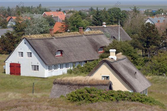 Fano, Danmark, historical style and architecture of farms and houses