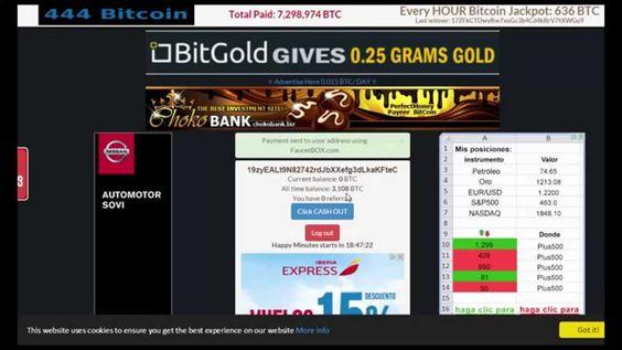 Биткоин кран 444 Bitcoin каждые 15 мин 444 сатоши!