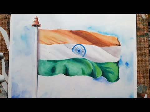 How To Draw Indian National Flag Happy Republic Day