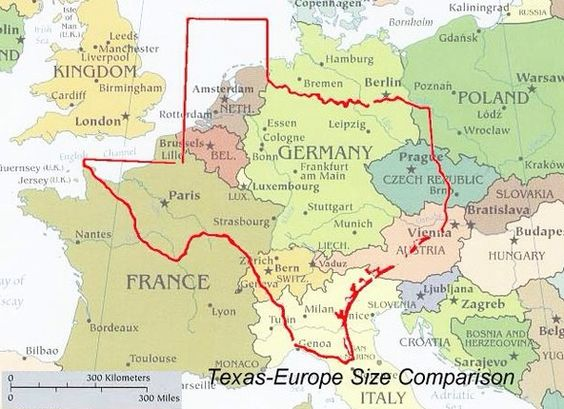 Pin By Angelica Faja Buschmann On Stadt Und Land Houses And Landscapes Size Of Texas Only In Texas Map