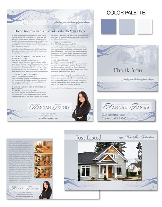 """Cool and serene, """"Colonial Dreams"""" #branding offers delicate scroll work without distracting from the business at hand."""