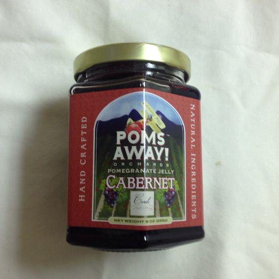 Poms Away! - Cabernet Jelly