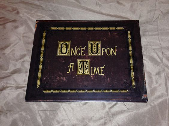 Henry's Once Upon A Time Storybook - Wedding Guest Album - Made To Order by jennysoubliette on Etsy