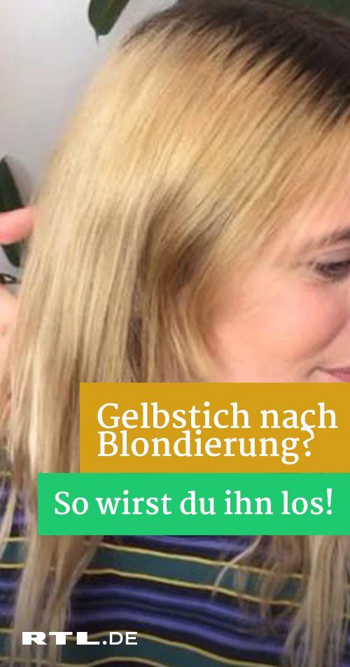 Blondierungsfail So Konnen Sie Gelbstich Schon Vor Dem