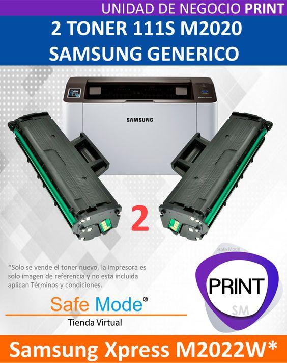 2 Toner para Samsung Xpress M2022W  [Nuevo]