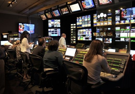 The GAA control room! (And earlier in the day, GMA): Control Center, Control Rooms, Gaa Control, Photo