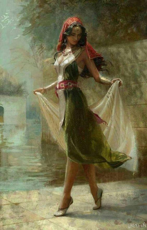 Gypsy Dancer - Sorceress | Middle-Eastern Lady