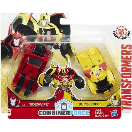 TRANSFORMERS ROBOTS IN DISGUISE COMBINER FORCE SIDESWIPE BUMBLEBEE CRASH BEESIDE