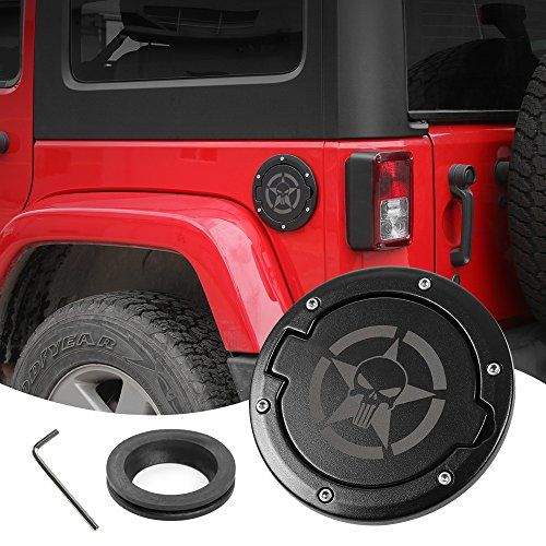 Gas Cap Fuel Door Gas Tank Cover For Jeep Wrangler Jl 2 Door 4