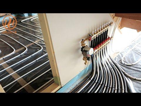 Underfloor Heating Insulation Over Slab Installation By