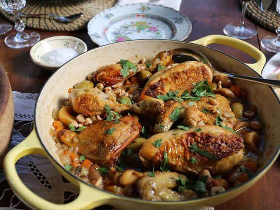 Hazelnut Chicken recipe from Giada De Laurentiis via Food Network
