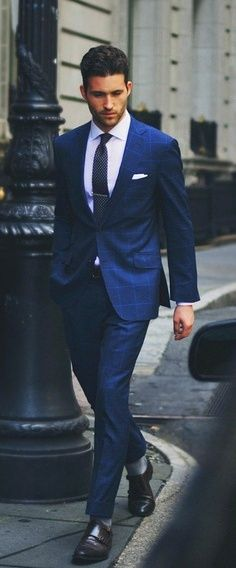 Cobalt blue, Suits and Men's blue suits on Pinterest