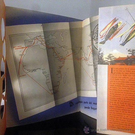 Líneas de navegación: Catálogo Lloyd Triestino. ´A Tokio para las Olimpiadas de 1940´ Cruceros Barcos Fascismo italiano - Foto 3 - 53129718