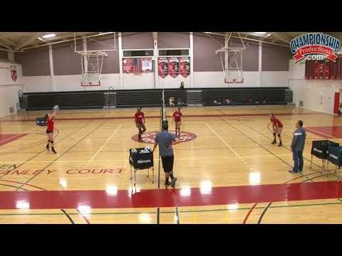 In This Video You Will See A Simple Volleyball Passing Drill That Is Designed To Get Your Players More Touches In 2020 Volleyball Drills Coaching Volleyball Volleyball