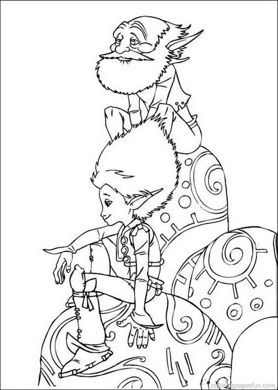 Arthur and the Minimoys Coloring Pages 2 | Inspiration | Pinterest ...